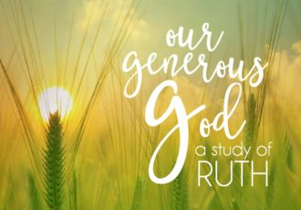 Our Generous God: A Study of Ruth {#fallbiblestudy}