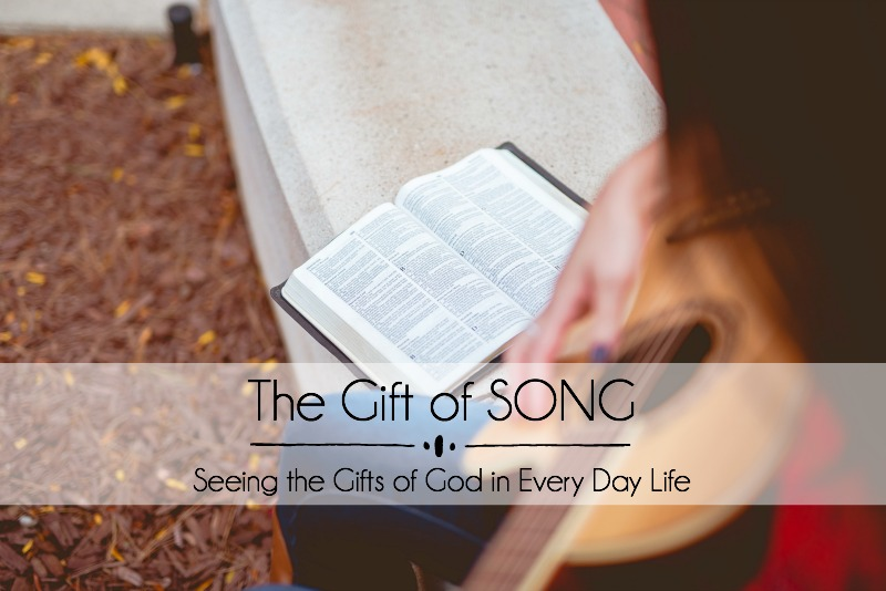 May the song of our lives speak of God's love for the world. It's easy to let the busy-ness of life and the hurts we experience change our song. If your song isn't one of glory to Him, ask God to give you a new song.