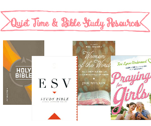 Shop for Quiet Time & Bible Study Resources recommended by Teri Lynne Underwood