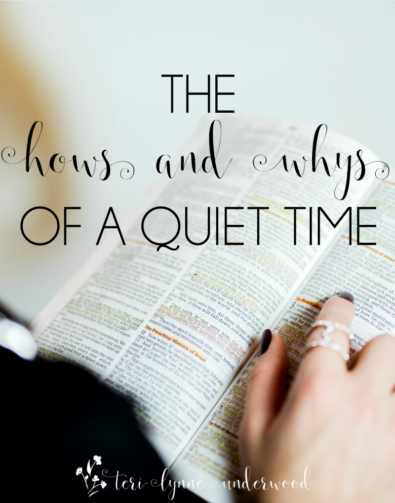 You want a great quiet time in 2018 — but you aren't sure about the hows and whys? Here are some simple grace-filled tips to help you get started and feel confident as the new year begins. Remember, it's less about what you do and more about Who you're meeting!