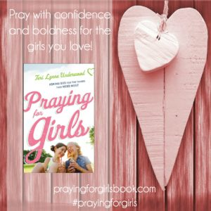 Get your copy of Praying for Girls: Asking God for the Things They Need Most now at LifeWay, Barnes & Noble, and all major online retailers