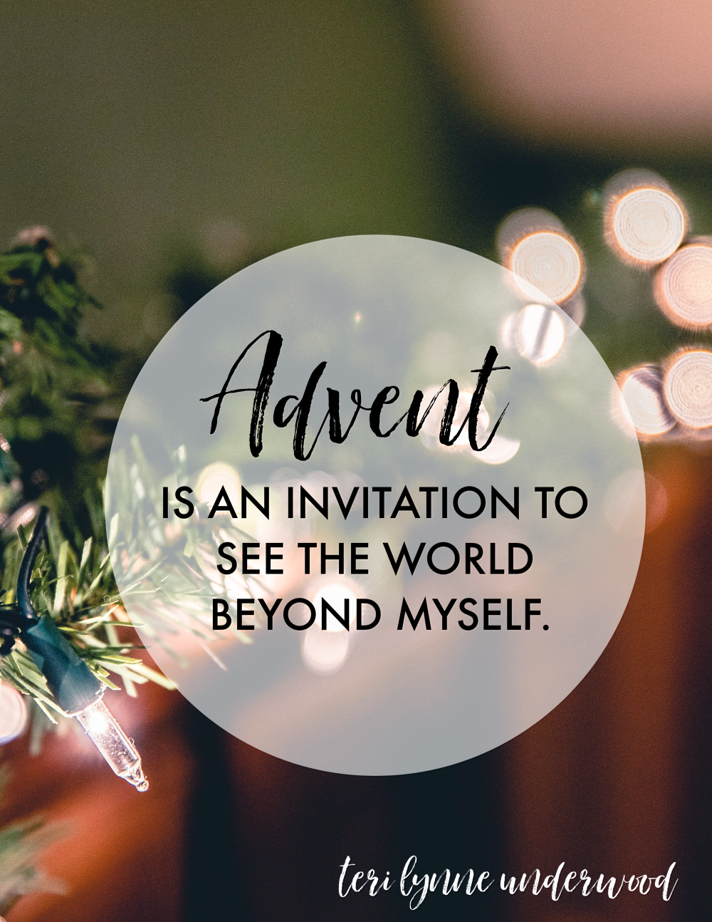 The Advent Invitation