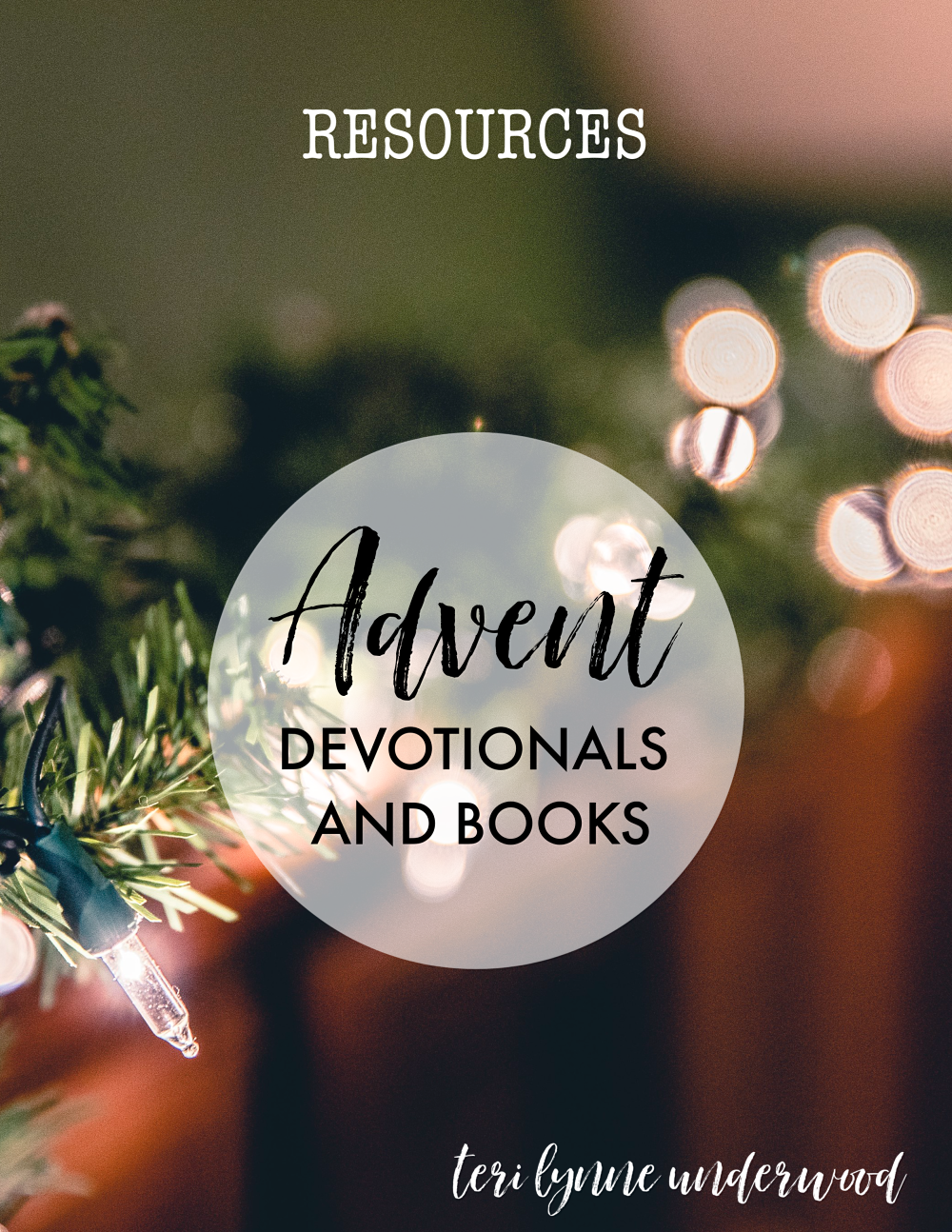My Favorite Advent Devotionals and Books