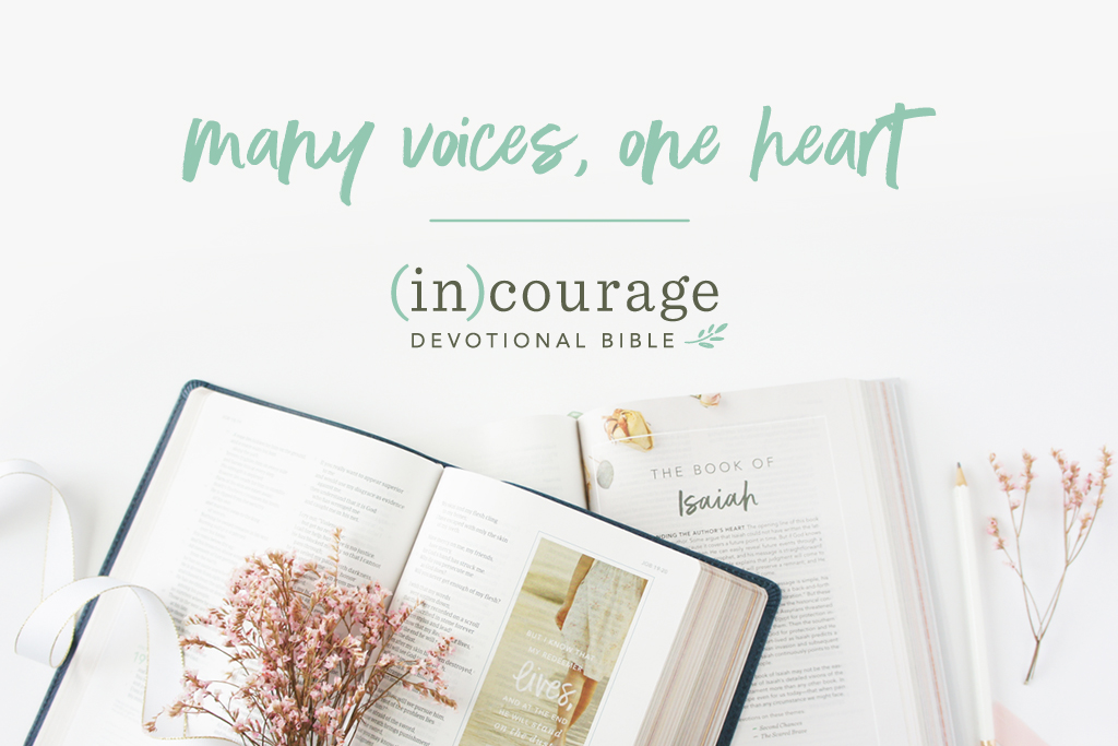 (in)courage Devotional Bible