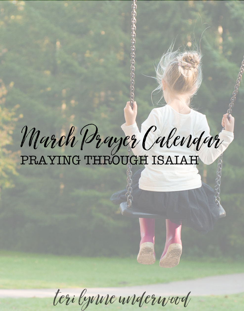 Get your March prayer calendar today and join thousands of moms who pray Scripture every day for the girls they love!