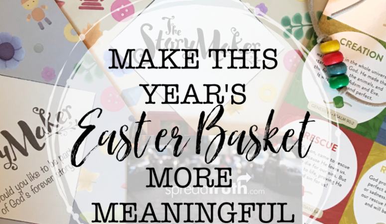 Make This Year's Easter Basket More Meaningful