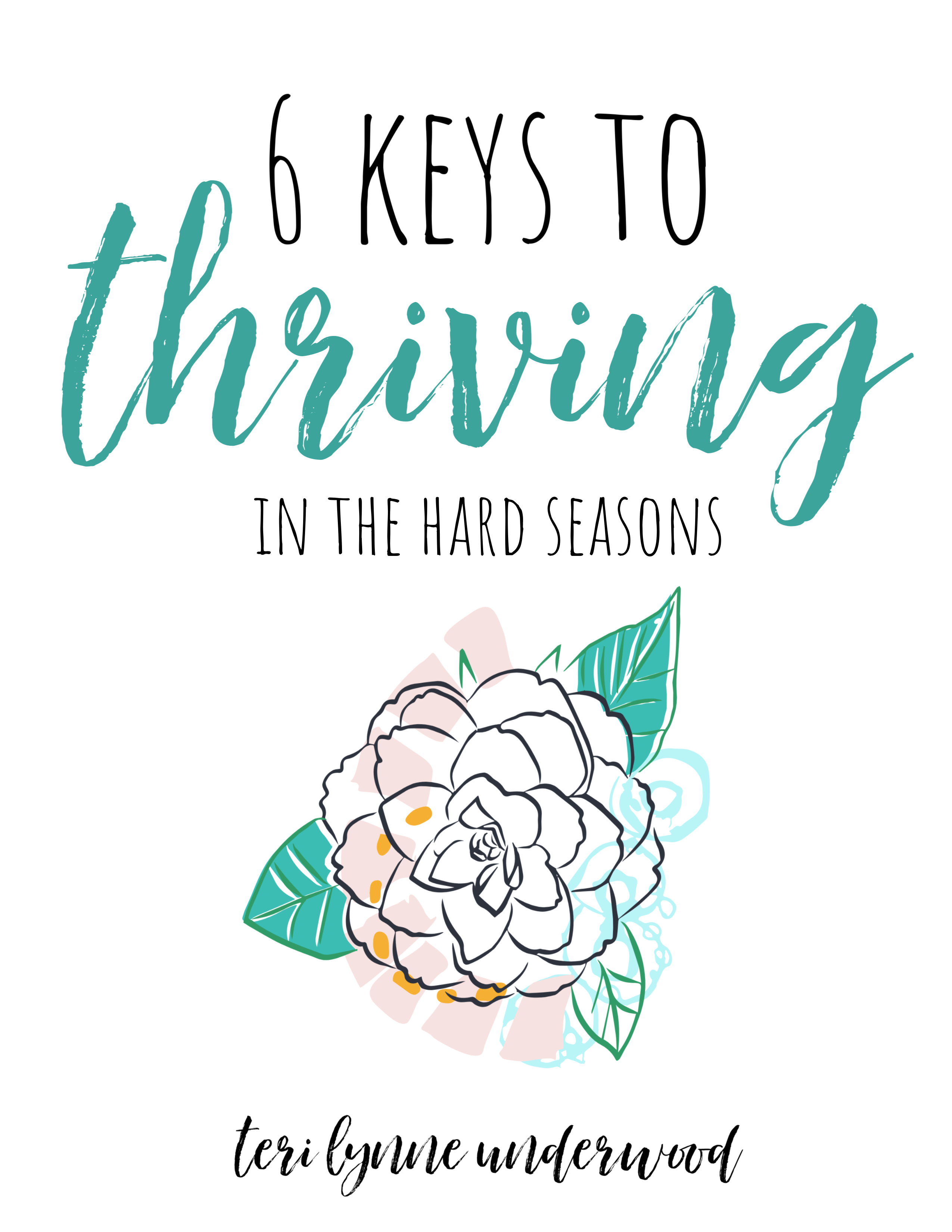 6 Keys to Thriving in the Hard Seasons (from Psalm 42) When the hard days come, we can truly thrive as we trust His faithfulness and choose to give Him the praise He is due.