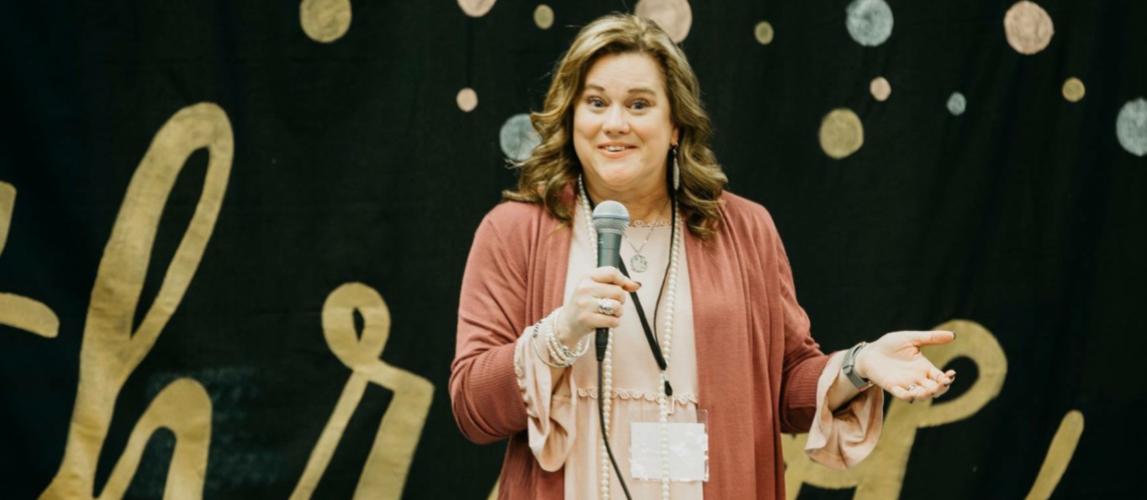 Teri Lynne Underwood || Lopsided Living Encourager, Passionate Bible Teacher, & Girl Mom Encourager