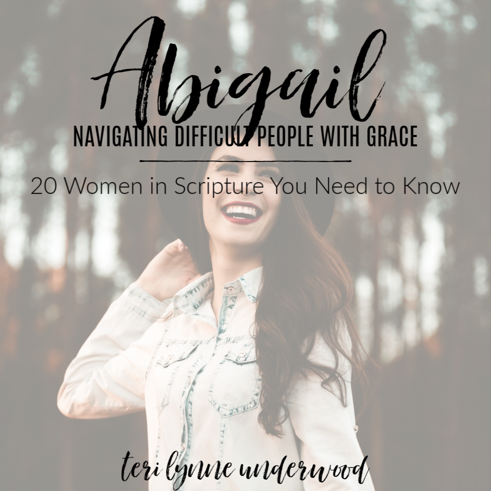 Abigail: Navigating Difficult People with Grace || 20 Women in Scripture You Need to Know  How can we navigate difficult people in our lives? What can we do to mitigate conflict between others? Abigail offers us 3 lessons for these inevitable situations in life.